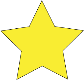 rating display: 5 star